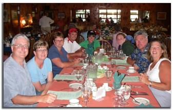 Dinner at Killarney Mountain Lodge